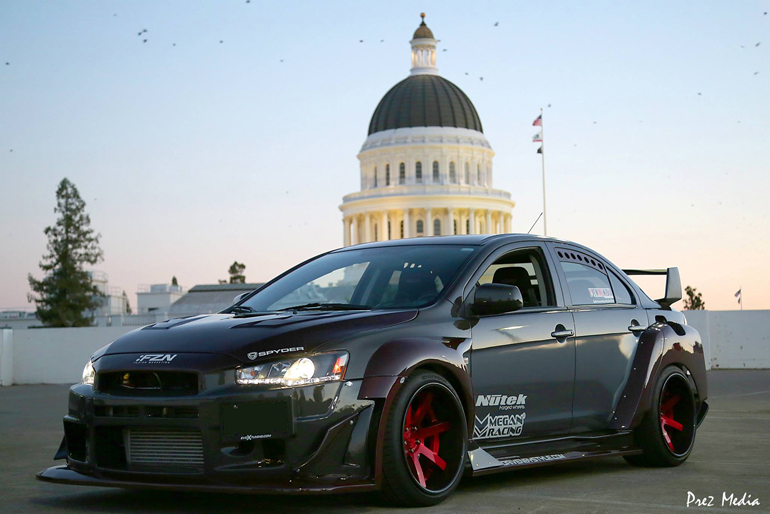 Driven By Style LLC Carbon Kevlar Wide Body EVO X