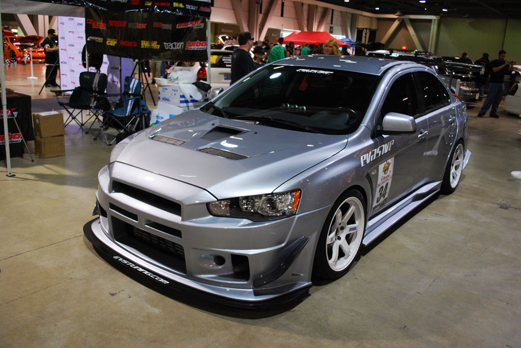 2008 2012 mitsubishi evolution itz evox ill fk itz body kits