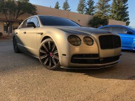 2005-2013 Bentley Flying Spur Carbon Fiber Front Splitter Now Available