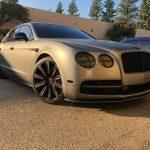 2005-2013 Bentley Flying Spur Carbon Fiber Front Splitter Now Available