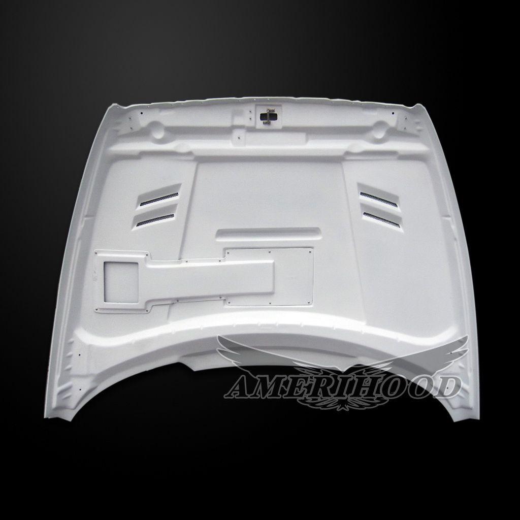Dodge Ram Vented Fiberglass Hood