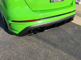 2016-2018 Ford Focus RS Lower Rear Diffuser Add Ons Now Available
