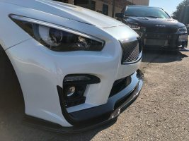 2014-2019 Infiniti Q50 Carbon Fiber Front Splitter Now Available