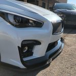 2014-2019 Infiniti Q50 Carbon Fiber Front Splitter Now Available