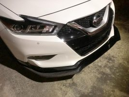 2016-2018 Nissan Maxima Carbon Fiber Front Splitter Now Available