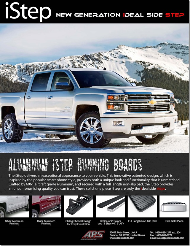 APS iStep Running Boards