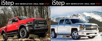 APS iStep Running Boards - Quality Side Steps for Trucks and SUV's