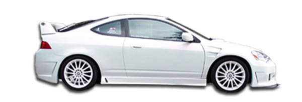 2 Piece Duraflex Replacement for 2002-2006 Acura RSX M-2 Side Skirts Rocker Panels