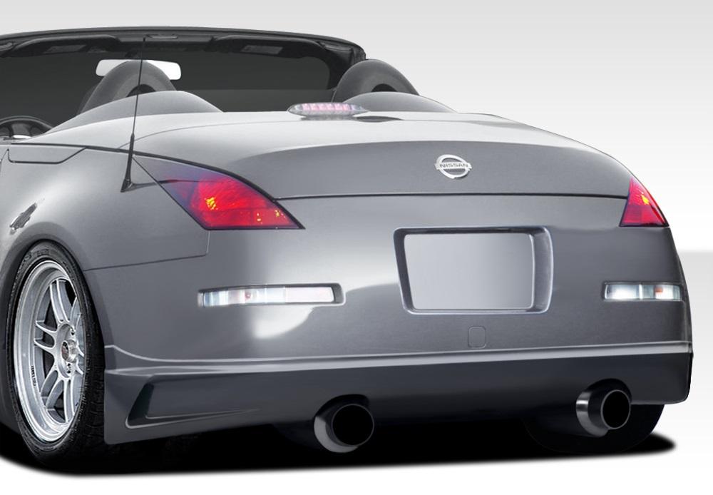 3 Piece 113546 For 2003-2008 Nissan 350Z Z33 Duraflex RBS Rear Diffuser