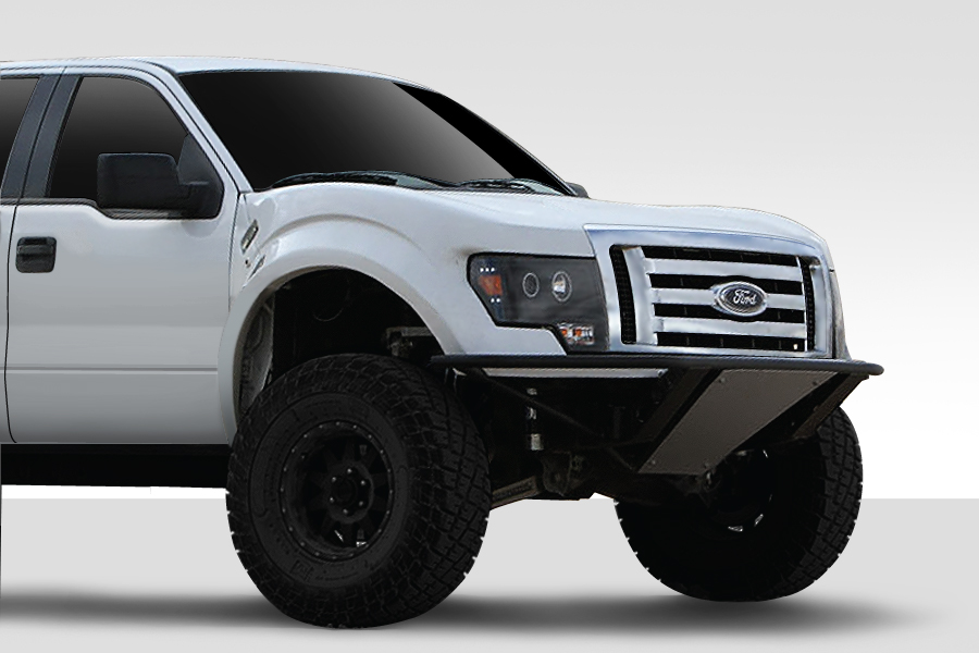 F150 Off Road >> 2004 2014 Ford F 150 Duraflex Off Road 2009 F 150 Front End