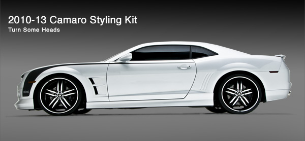 2010-2013 Chevrolet Camaro Body Kits, Upgrades and Accessories