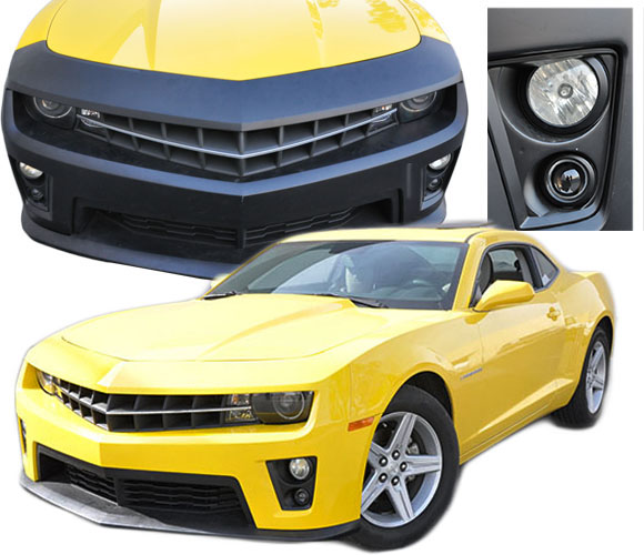 Chevrolet Camaro ZL1 Conversion Bumpers (Polypropylene)