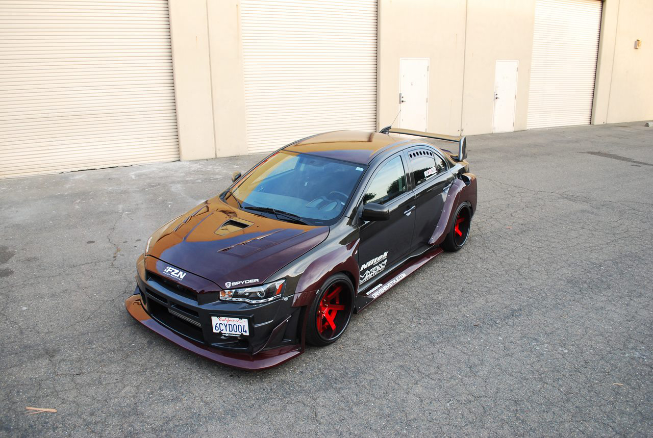 Carbon Kevlar Wide Body EVO-X By Driven By Style LLC