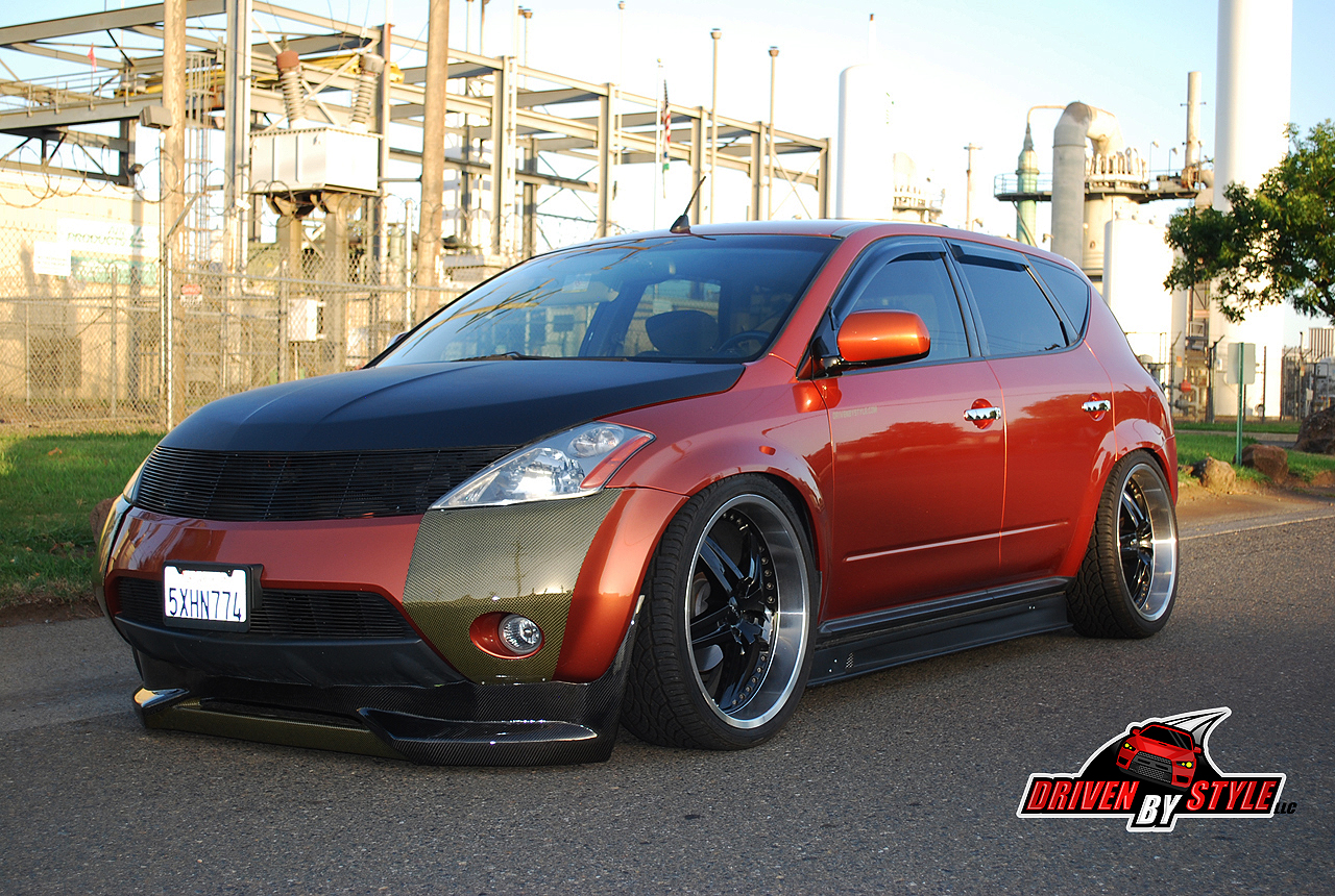 Driven By Style Llc Builds Prototype Nissan Murano Body Kit